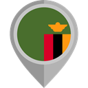 flag, Zambia, placeholder, flags, Country, Nation DarkOliveGreen icon
