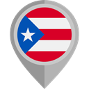 placeholder, flags, Country, Nation, flag, Puerto Rico DarkGray icon