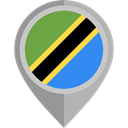 Nation, flag, Tanzania, placeholder, flags, Country Icon