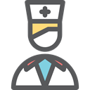 profile, Avatar, Social, Nurse, user, Healthcare And Medical, Professions And Jobs DimGray icon