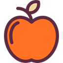 Food And Restaurant, diet, vegetarian, vegan, Healthy Food, Apple, food, Fruit, organic Tomato icon
