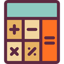 maths, Tools And Utensils, Calculating, Technological, calculator, technology DarkSlateGray icon