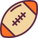 Ball, sports, American football, Rugby, Sports Ball, Rugby Ball, Sportive, Rugby Game, Sports And Competition NavajoWhite icon