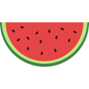 food, Fruit, organic, watermelon, diet, vegetarian, vegan, Healthy Food, Food And Restaurant Tomato icon