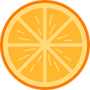Food And Restaurant, diet, vegetarian, vegan, Healthy Food, Orange, food, Fruit, organic Goldenrod icon