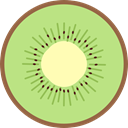 food, Fruit, organic, diet, Food And Restaurant, Kiwi, vegetarian, vegan, Healthy Food LightGreen icon