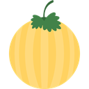 Food And Restaurant, melon, vegetarian, vegan, Healthy Food, food, Fruit, organic, diet Khaki icon