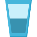 drink, food, glass, water, liquid, Healthy Food, Glass Of Water, Food And Restaurant LightCyan icon