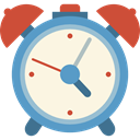 Clock, time, timer, alarm clock, Tools And Utensils OldLace icon