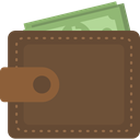 Notes, wallet, Money, card, Holder, Billfold, Business And Finance DarkOliveGreen icon
