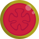 food, Fruit, organic, diet, guava, vegetarian, vegan, Healthy Food, Food And Restaurant Crimson icon