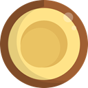food, Fruit, Coconut, natural, drink, Coconuts, Food And Restaurant SandyBrown icon