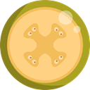 Healthy Food, Food And Restaurant, diet, melon, vegetarian, vegan, food, Fruit, organic Khaki icon