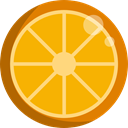 Orange, food, Fruit, organic, diet, vegetarian, vegan, Healthy Food, Food And Restaurant Orange icon