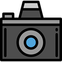 picture, interface, digital, technology, electronics, photograph, photo camera DarkSlateGray icon