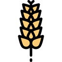 food, vegetable, Grain, flour, plant, Gluten, Food And Restaurant Black icon