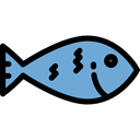 Animal, food, fish, Supermarket, meat, fishes, Foods, Meats, Food And Restaurant Black icon