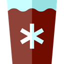 Cold Drink, Coffee Shop, Iced Coffee, Food And Restaurant, food, glass Sienna icon
