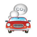 Car, transport, vehicle, Smoke, Automobile Black icon