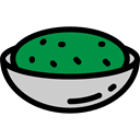 food, Mexico, Mexican, Foods, Guacamole, Typical, Food And Restaurant Black icon