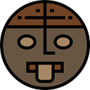 Aztec, Pagan, religion, Monument, religious, Monuments DarkOliveGreen icon