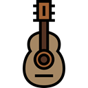 Orchestra, Acoustic Guitar, String Instrument, Music And Multimedia, flamenco, Folk, musical instrument, Spanish Guitar, music, guitar Black icon