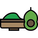 food, Fruit, fruits, seed, Mexican, Guacamole, Food And Restaurant Black icon