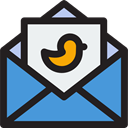 Email, envelope, Message, mail, Note, Communications Icon