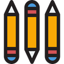 Edit, pencil, Draw, writing, pencils, Tools And Utensils, Edit Tools Black icon