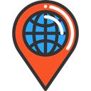 interface, location, pin, placeholder, signs, map pointer, Map Location, Map Point, Maps And Location Icon