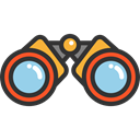 spy, Goggles, sight, Binoculars, Eye, see, Tools And Utensils Icon