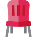 Seat, Chair, Comfort, office chair, Tools And Utensils, Comfortable, Furniture And Household Crimson icon