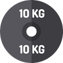 dumbbell, weights, Dumbbells, weight, sports, gym, Tools And Utensils, Sports And Competition DarkSlateGray icon