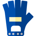 weight, training, sports, gloves, gym, Sports And Competition MidnightBlue icon