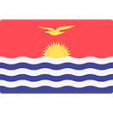 world, flag, Kiribati, flags, Country, Nation Tomato icon