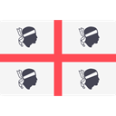 world, flag, flags, Country, Nation, Sardinia WhiteSmoke icon