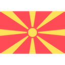 flags, Republic Of Macedonia Tomato icon