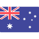 world, flag, Australia, flags, Country, Nation DarkSlateBlue icon