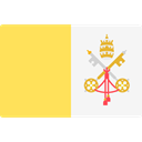 world, flag, flags, Country, Nation, Vatican City Khaki icon