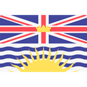 Nation, British Columbia, world, flag, flags, Country DarkSlateBlue icon