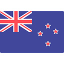 world, New Zealand, flag, flags, Country, Nation DarkSlateBlue icon