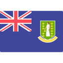 flags, Country, Nation, British Virgin Islands, world, flag DarkSlateBlue icon