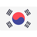 world, flag, flags, Country, Nation, south korea WhiteSmoke icon