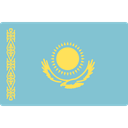 world, flag, Kazakhstan, flags, Country, Nation SkyBlue icon