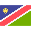 world, flag, Namibia, flags, Country, Nation Tomato icon