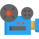 cinema, video camera, Video Cameras, film, movie, technology, electronics DimGray icon