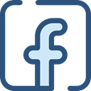 social media, social network, logotype, Logo, Facebook, Logos, Brands And Logotypes DarkSlateBlue icon