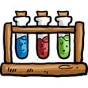 science, education, Chemistry, chemical, Test Tube, Test Tubes Black icon