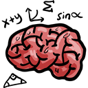 Anterior Part, Human Brain, Healthcare And Medical, people, medical, Brain, Body Part, Body Organ, Brain Anterior Black icon