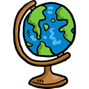 planet, Geography, Maps And Flags, Planet Earth, Earth Globe, Earth Grid, Maps And Location Black icon
